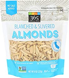 365 Everyday Value, Almonds, Blanched & Slivered, 8 oz