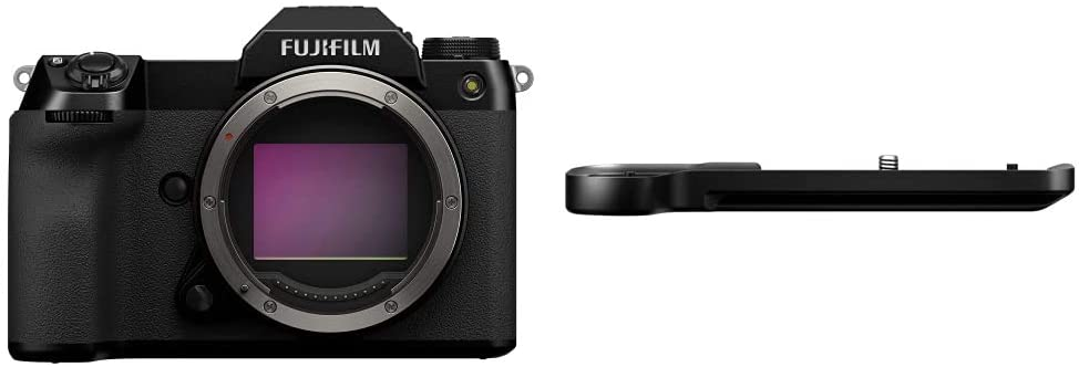 Fujifilm GFX 100S Body - Black + G Metal Max 54% OFF MHG-GFX S Special price for a limited time Grip Hand