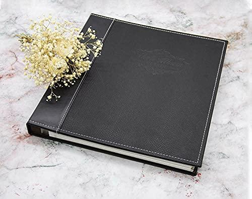 Magnetic Self-Stick Page Photo Album Self Adhesive Leather. photo albums book Photo album Photo album magnetic pages Photo album all size pictures