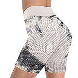 ღLILICATღ Pantalones Cortos De Yoga para Mujer Tie-Dye Stretch Fitness Sports Short Leggings De Cintura Alta Gym Running Yoga Hot Pants Hips Tights