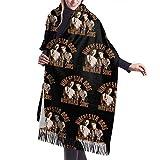 Yuanmeiju Bufanda larga de moda para mujer Supernatural Winchester Brothers Wayward Sons Ladies Soft Large Cashmere Blend Scarf Warm Cashmere Skirt Elegant Shawl Wrap