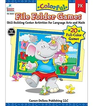 Colorful File Folder Games Grade PK  Colorful Game Books Series