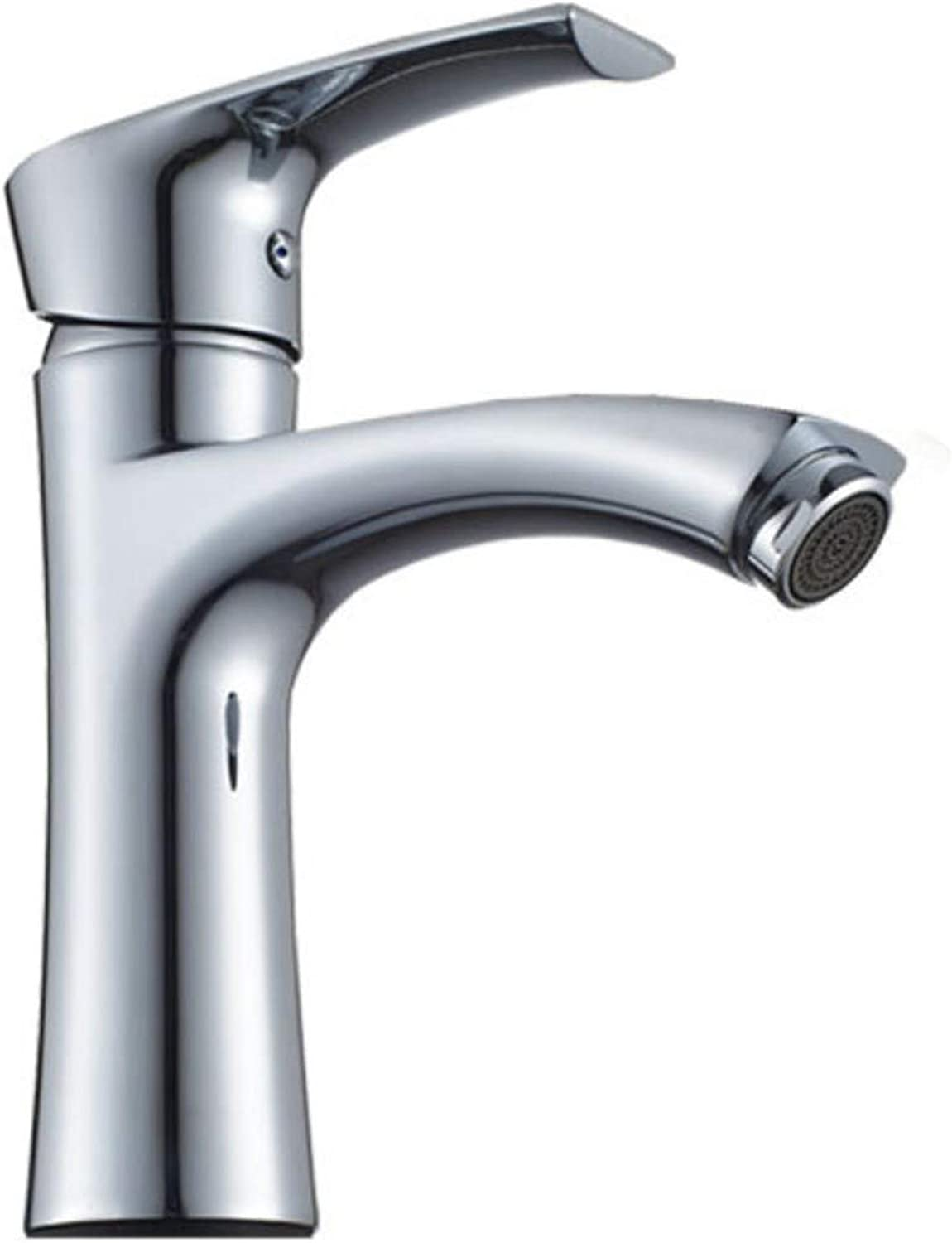 Faucets Washbasin Hot And Cold Bathroom Cabinet Washbasin All Copper Faucet.