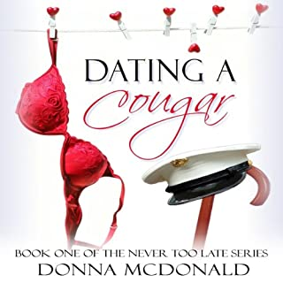 Dating a Cougar audiobook cover art