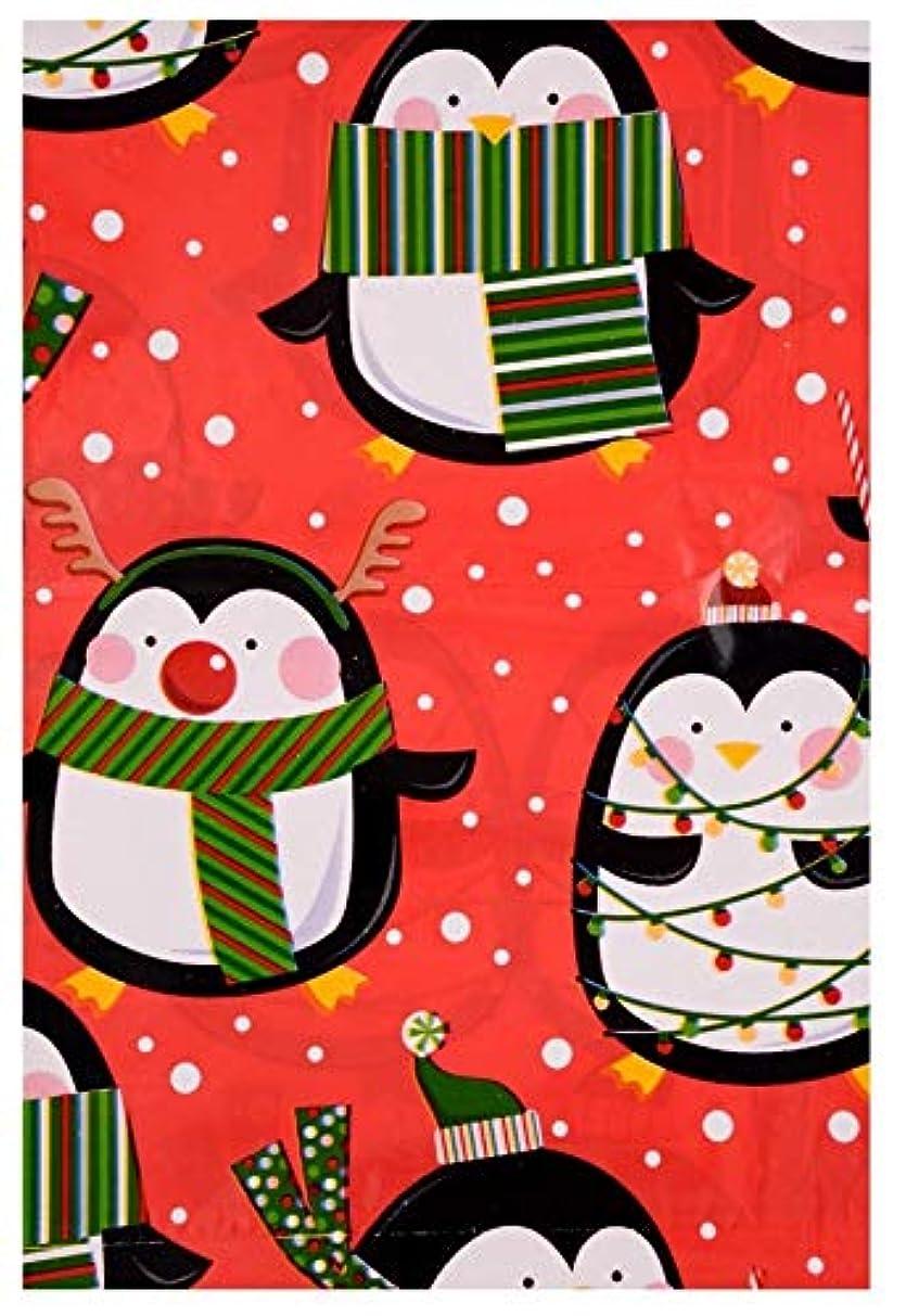 Christmas Bike Gift Bag 60 in x 72 in (Christmas Penguins)