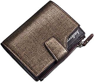 Multifunctional Sands Leather Zipper Card Man