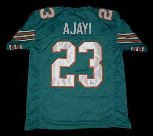 Jay Ajayi Autographed Custom Jersey (miami Dolphins) - Jsa Coa! - Autographed NFL Jerseys