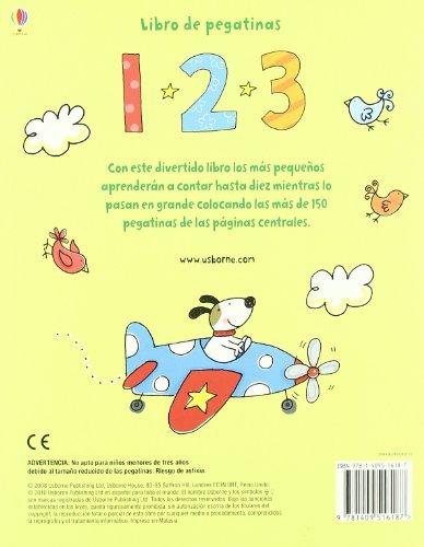 1, 2, 3 (Libros De Pegatinas)