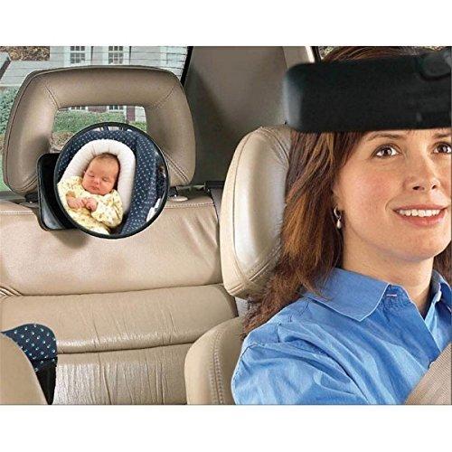 Retrovisor para sillitas de bebé y sistemas de retención infantil, para observar a su bebé en el asiento trasero