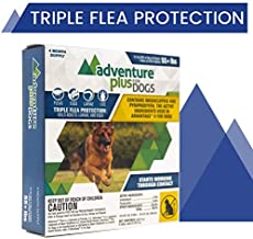 Adventure Plus Triple Flea Protection for Dogs, X-Large, 55+ lbs (4 Dose)