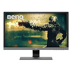professional BenQ EL2870U 28 inch 4K gaming monitor, 1 ms response time, FreeSync, HDR, eye protection, speaker