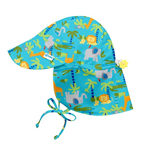 Breathable Flap Hat green sprouts 2-4 Jahre Pink