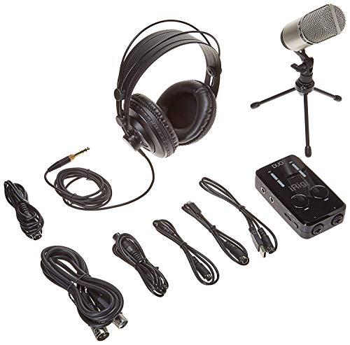IK Multimedia  iRig Pro Duo Studio Suite complete recording bundle for iPhone, iPad & Mac/PC