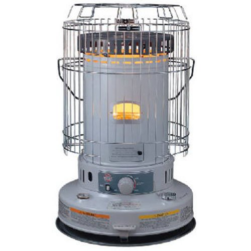 Kero World KW-24G Indoor Kerosene Heater, White