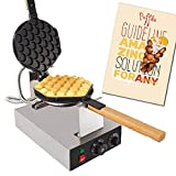 ALDKitchen Bubble Waffle Maker for Egg Puff and Hong Kong Waffles | Professional...