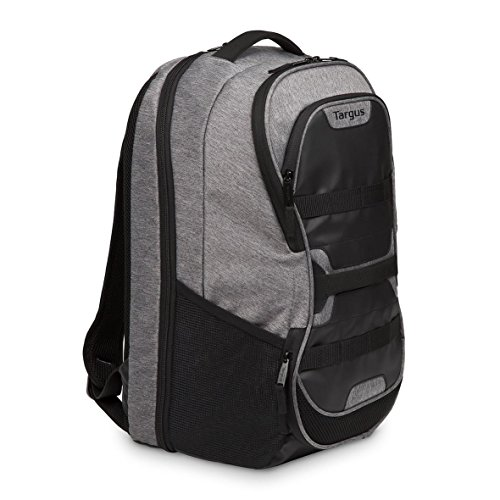 Targus TSB94404EU Work + Play Sac à dos de sport pour ordinateur portable jusqu'à 15,6  pouces, 27 litres – Gris