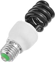 SGJFZD 220V E27 15-20W UV Light Bulb UV Ultraviolet Fluorescent CFL Light Bulb Spiral Enegy Saving Black Light Violet Lamp...