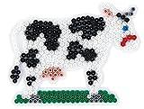 Hama 280 Bügelperlen Gr.P. Kuh, Schreibwaren, weiß