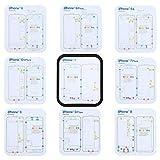 Phone Repair Tools Kit Magnetic Screws Keeper Pad Chart Mat Repair Guide Tool Holder For iPhone X 6 6s 7 8 Plus