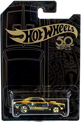 Hot Wheels 2018 50th Anniversary Black & Gold Series