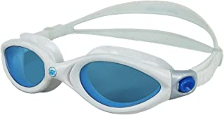 Barracuda Swim Goggles - Curved Lenses Streamline Design, Anti-Fog UV Protection, One-Piece Frame Soft Seals, Easy Adjusting Comfortable Leak Proof for Adults Men Women #32420