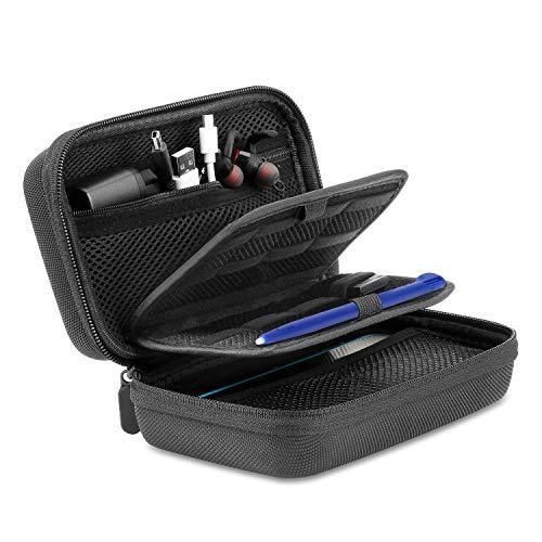 Bestico Tasche Case für New Nintendo 2DS XL, Beinhalteteine Tasche für Nintendo DS (New 2DS XL/New 3DS XL/3DS/3DS XL/New 3DS)mit 16 Spielpatronen Slots+ Tragegurt(tasche)