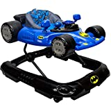 KidsEmbrace Batman Baby Activity Walker, DC Comics Car, Music and Lights, Blue