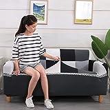Fundas de sofá elásticas geométricas para Sala de Estar Funda de sofá Moderna para Silla de sofá de Diferentes Formas Funda de sofá Estilo L A11 1 Plaza