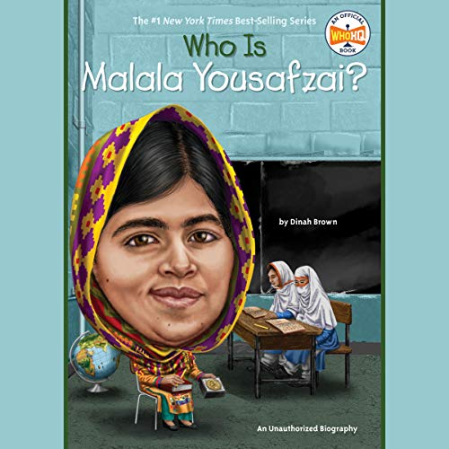 Who Is Malala Yousafzai? cover art
