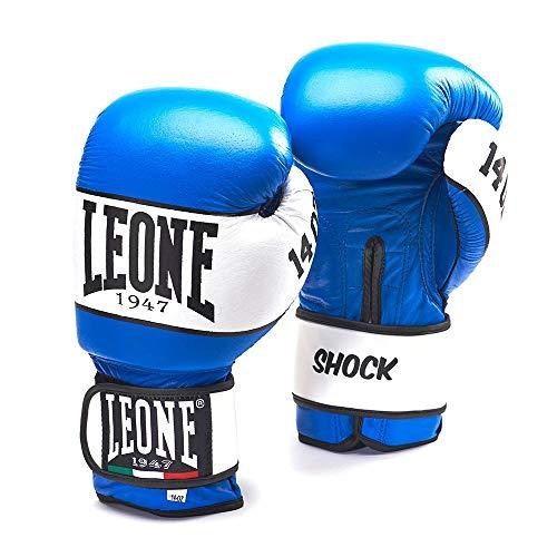 LEORC #LEONE 1947, Shock Boxhandschuhe Unisex - Erwachsene, blau, 8oz