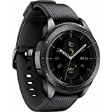 Samsung Galaxy Watch (42mm) 4G LTE SM-R815UZKAXAR - Midnight Black (Renewed)