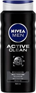 NIVEA MEN Active Clean Shower Gel, 500ml