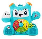 Fisher-Price Rocky Roquero, juguete electrónico bebé +6 meses (Mattel FXD05) ,...