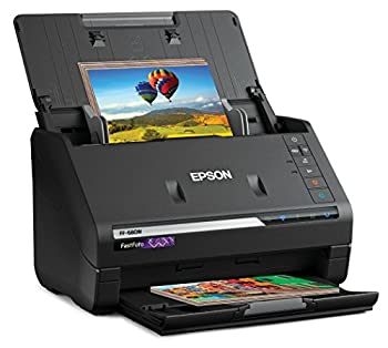 Epson FastFoto FF-680W Wireless High-Speed Photo and Document Scanning System Black