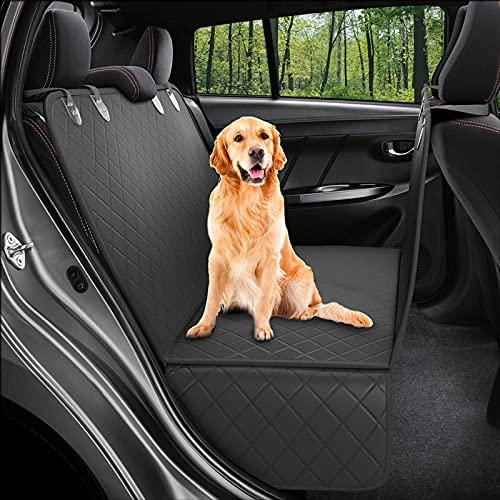 Eyeleaf Coprisedile Auto per Cani Posteriore, Coprisedile Posteriore Auto per Cani Impermeabile Amaca Coprisedile per Cani Auto con Protezione Laterale AntiGraffio Antiscivolo Universale per Ogni Auto