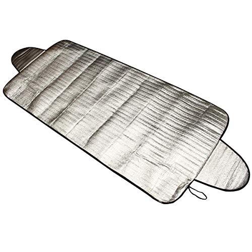 MOBFIDOFG Frontscheibe Auto-Spielraum Außenabdeckungen Frontschild Windschutzscheibe Abdeckung Baumwolle Folie Außenliegender Sonnenschutz 70cm x 192cm