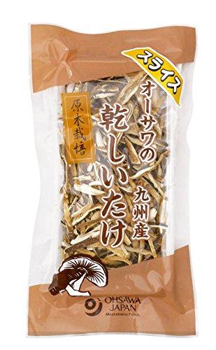 オーサワの九州産乾椎茸(スライス)