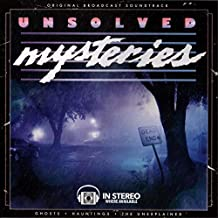 Unsolved Mysteries: Ghosts • Hauntings • The Unexplained - Original Broadcast Soundtrack (Limited Edition Numbered Hand Poured #/200)