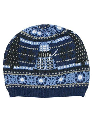 TARDIS und Dalek Weihnachtsmütze - Offizieller Doctor Who Mütze von LOVARZI