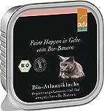 defu - feine Happen in Gelee Bio-Atlantiklachs, 16er Pack (16 x 100 g)