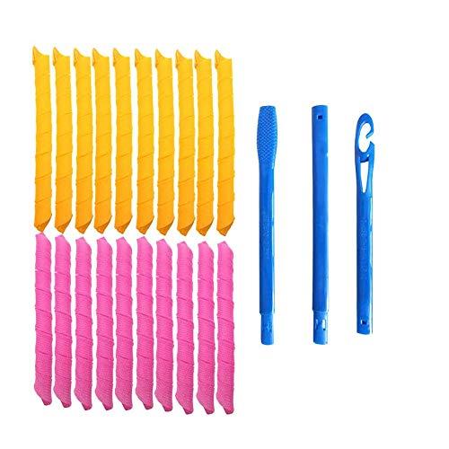 Magic Holz Ez Dehnbar Doppel Haarspangen Kamm Neu Zufällige Farbe Design