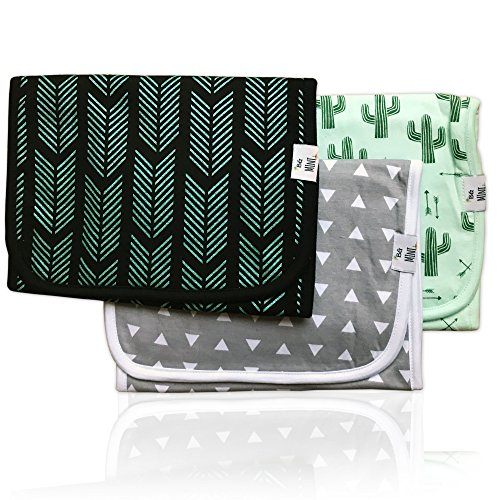 "Price comparison product image Baby Burp Cloth Large Absorbent 3 Pack Gift Set Boys "" Joe"" set By BG Mini"