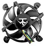TRONWIRE TW-22 CPU Cooler with Aluminum Heatsink & 4-Pin PWM 3.5-Inch Fan with...