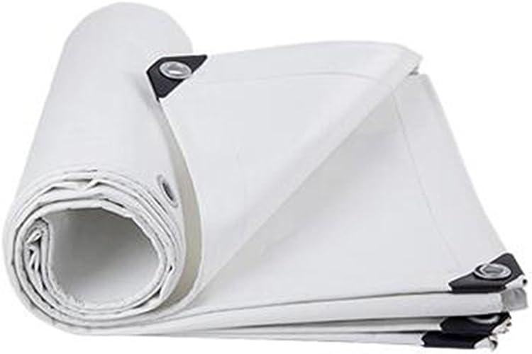 WJQSD tente bache Plaque imperméable bloc-pluie en tissu de pluie blanc Garder au chaud en plastique un abri de prougeection de tissu Construction ultra-légère Tissu anti-froid Extérieur, camping, pisci
