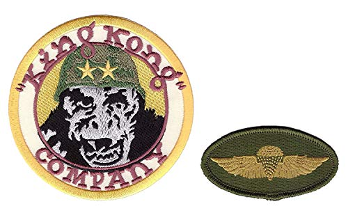 Titan One Europe Jump Wings + King Kong Company Taxi Driver We People Costume Patches Iron On Aufnäher Aufbügler