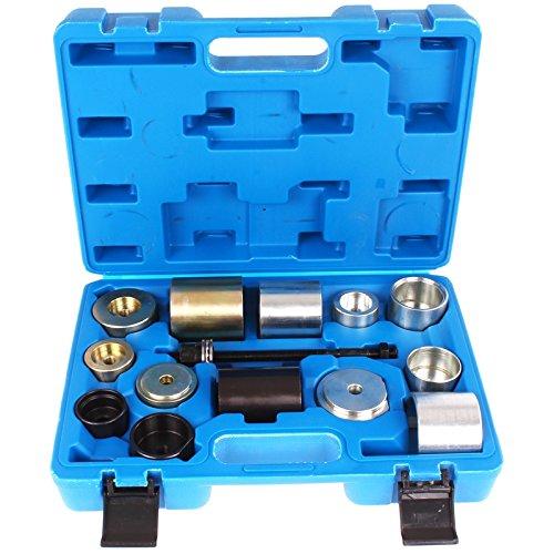 TECPO Silentlager Werkzeug Kompatibel mit BMW E36 E46 E38 E39 E60 E61 E31 E90 E91 Gummilager Buchsen