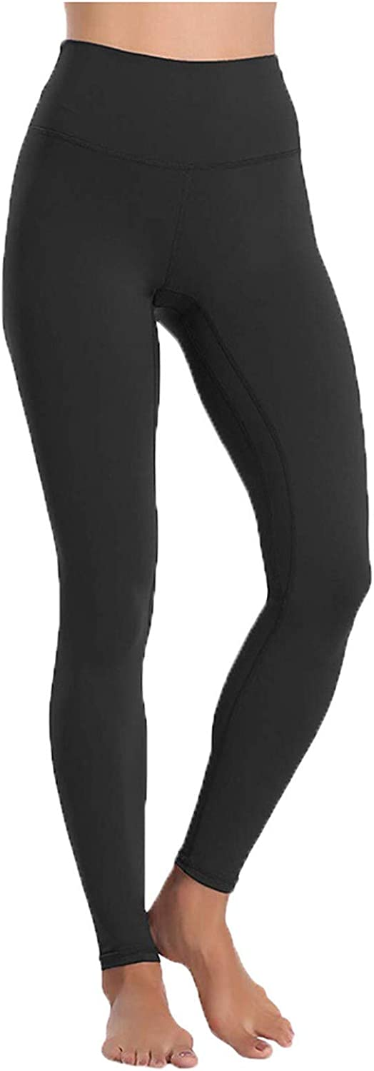 Women's Leggings Tummy Control Hidden Pocket Lightweight Activewear Breathable Naked Feeling Yoga Pants Workout Tights