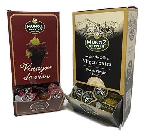 Set de monodosis de aceite de oliva virgen extra y...