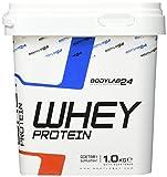 Bodylab24 Whey Protein Eiweißpulver | 1kg | Pistazie | hochwertiges Proteinpulver, Low Carb Eiweiß-Shake für Muskelaufbau und Fitness