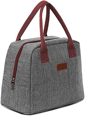 DIIG Lunch Bag for Women Large Reusable Insulated Lunch Box for Work Adult Foldable Tote for product image